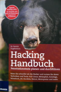 Hacking Handbuch. Penetrationstests planen und durchführen. Von Patrick Engebretson. Eine Buchrezension. Buchcover