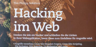 Hacking im Web Schaefers Franzis Buchrezension