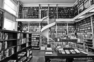 Bücherei, Ausbildungsakademie